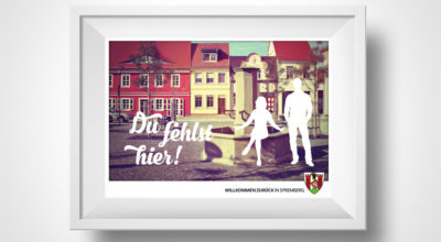 ASG - Heimkehrer Aktion - Postkartengestaltung