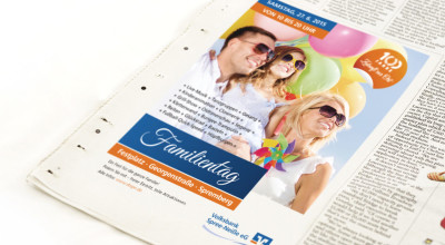 Volksbank Familientag – Anzeige