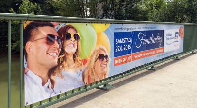 Volksbank Familientag – Banner