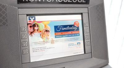 Volksbank Familientag – Display-Werbung