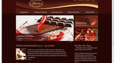 Confiserie Felicitas - Website