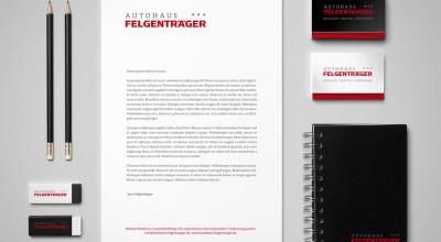 Autohaus Felgenträger - Corporate Design