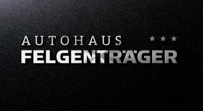 Autohaus Felgenträger - Logo (Edelstahl)