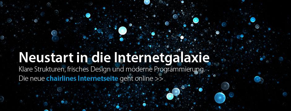 Internetgalaxie - chairlines medienagentur