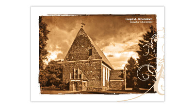 Artcards 3 - Kirche Kolkwitz