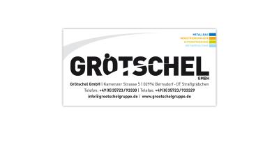 Grötschel - Firmenschild