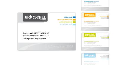 Grötschel - Visitenkarte