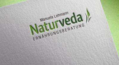 Naturveda - Logo (Letterpress)