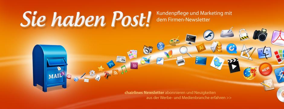 Sie haben Post – Newsletter