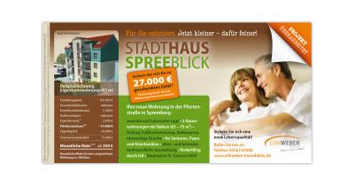 Stadthaus Spreeblick - Anzeige