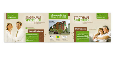 Stadthaus Spreeblick - Informationstafel