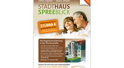 Stadthaus Spreeblick - Plakat