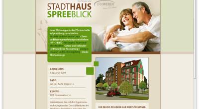 Stadthaus Spreeblick - Microsite