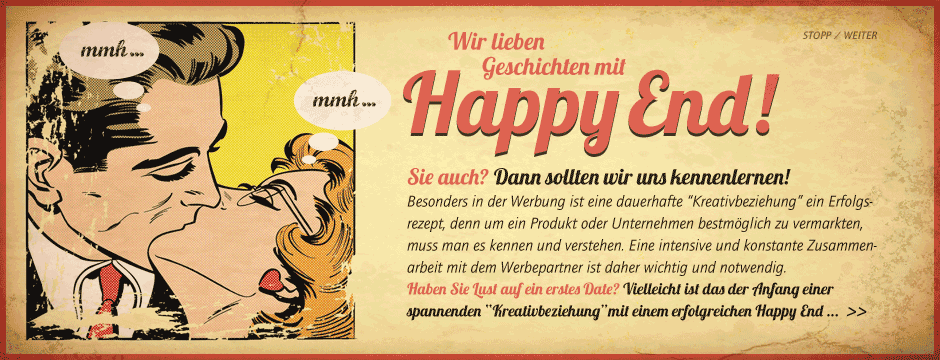 Kreativbeziehung mit Happy End