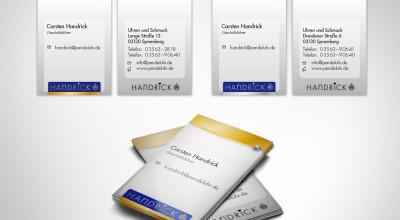 Uhren und Schmuck Carsten Handrick – Visitenkarten