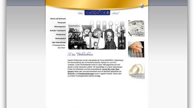 Uhren und Schmuck Carsten Handrick – Website