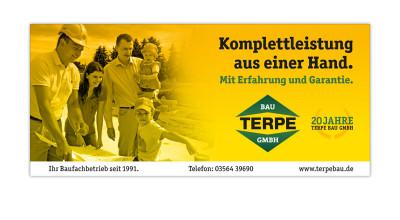 Terpe Bau GmbH - Anzeigenserie