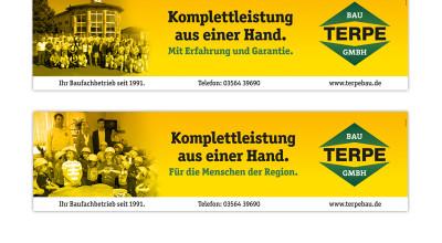 Terpe Bau GmbH - Banner