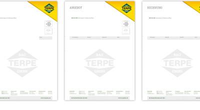 Terpe Bau GmbH - Geschäftspost