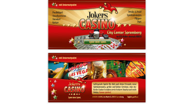 Jokers Casino - Flyer