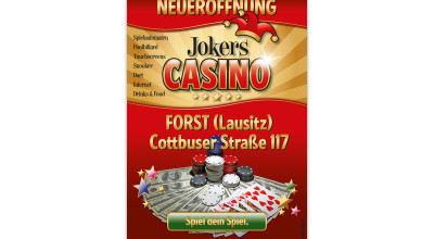 Jokers Casino - Plakat