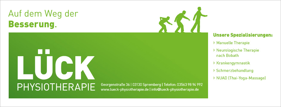 Lück Physiotherapie - Design