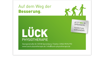 Lück Physiotherapie - Flyer