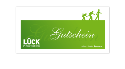 Lück Physiotherapie - Gutschein