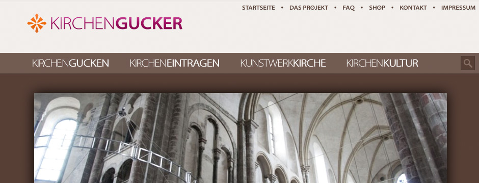 Kirchengucker - Design