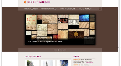 Kirchengucker - Website