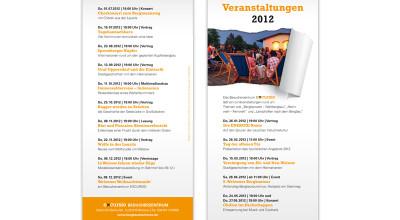 excursio - Veranstaltungsflyer