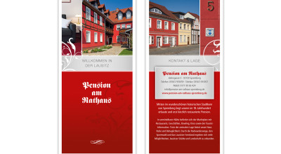 Pension am Rathaus - Flyer