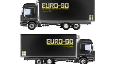 EURO-90 – Fahrzeuggestaltung