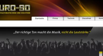 EURO-90 – Website