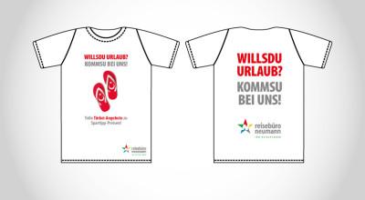 Reisebüro Neumann - Promotion-Shirt