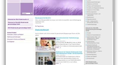 Diakonie Niederlausitz - Website