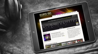 EURO 90 - Webdesign