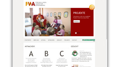 Freiwilligenagentur Spremberg - Website