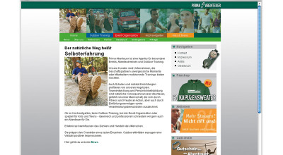 Prima Abenteuer - Website