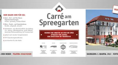 Carré am Spreegarten - Anzeige