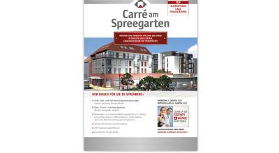 Carré am Spreegarten - Plakat