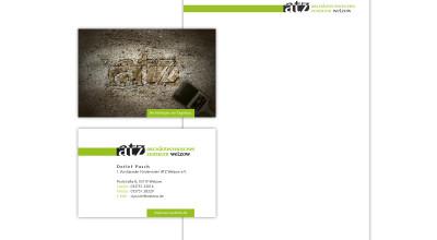 Archäotechnisches Zentrum Welzow - Brief und Visitenkarte