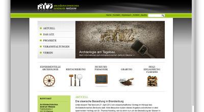 Archäotechnisches Zentrum Welzow - Internetauftritt