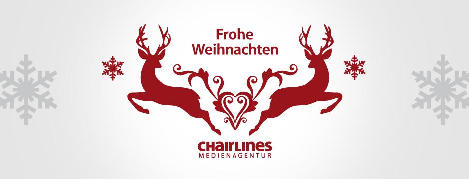 chairlines - Frohe Weihnachten
