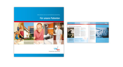 Krankenhaus - Broschüre