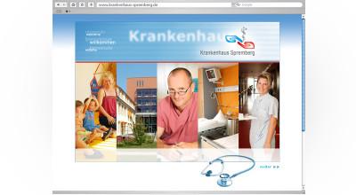 Krankenhaus Spremberg- Website