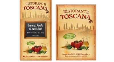 Ristorante Toscana - Flyer