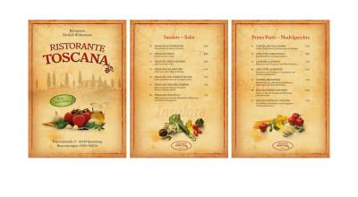 Ristorante Toscana - Speisekarte