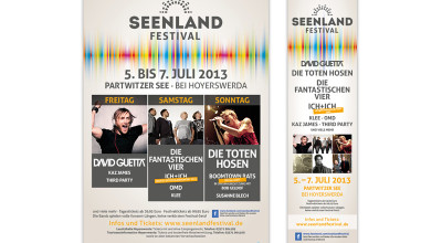 Seenlandfestival - Anzeigen