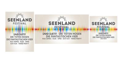 Seenlandfestival - Web-Anzeigen